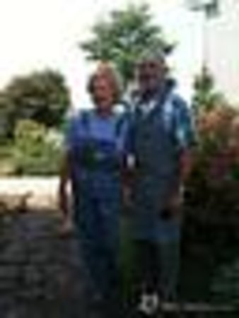 Century House Bed & Breakfast Pottery & Gallery: Your hosts David and Mieke