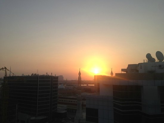 J5 Hotels - Port Saeed: Sunset from the rooftop