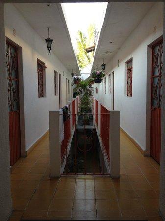Hotel Ana Liz : Internal Courtyard