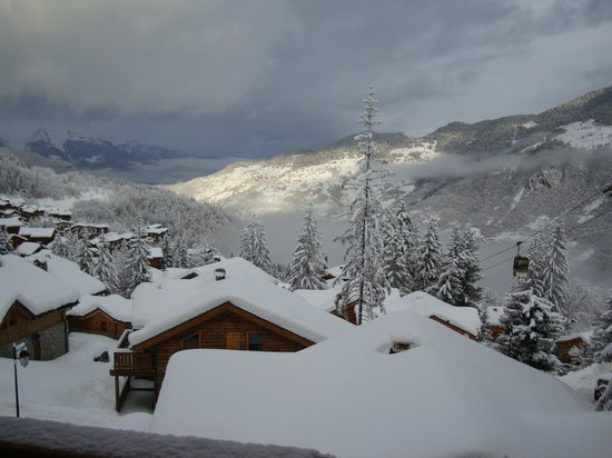 Alpine Escape : veiw from the chalet
