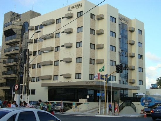 Marinas Maceio Hotel: Fachada do Hotel