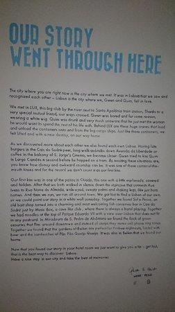 The Lisbonaire Apartments: La storia d'amore scritta sul muro dello Studio G