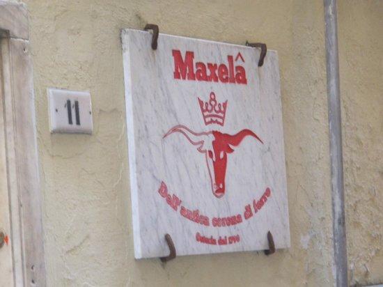 Maxela Genova 1 : targa esterna
