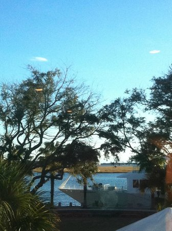 Panini's on the Waterfront: Gorgeous view from our dinner table.....