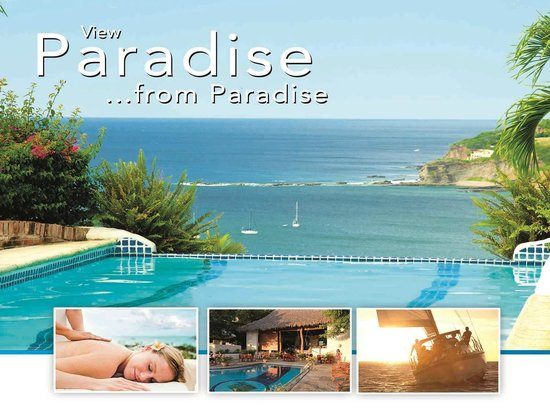 Pelican Eyes Resort & Spa: View Paradise from Paradise!