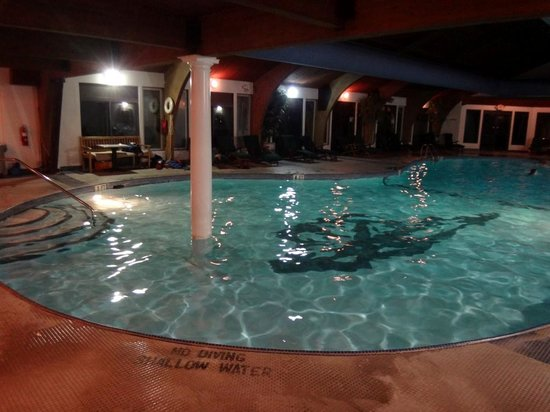 The Shawnee Inn and Golf Resort: Indoor pool