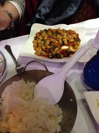 Canton Restaurant: chicken and peanuts