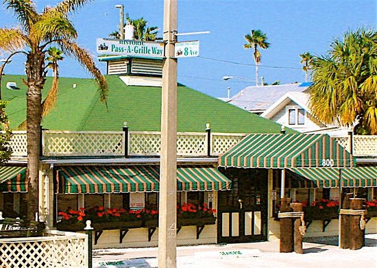Seahorse Restaurant : Located on the corner of Pass-A-Grille Way and 8th Avenue in St. Pete Beach