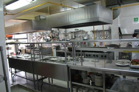 Fonda el Refugio: Beautiful kitchen