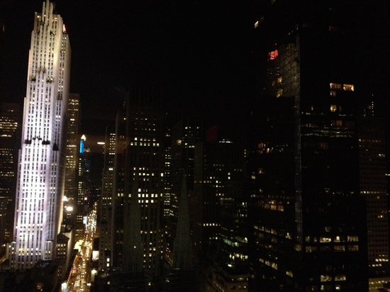 Lotte New York Palace: The view at night