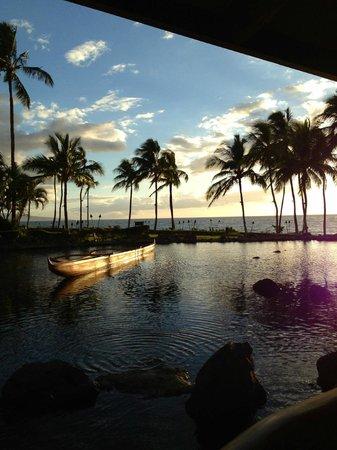 Grand Wailea - A Waldorf Astoria Resort: Sonnenuntergang Restaurant Humuhumunukunukuaupua'a