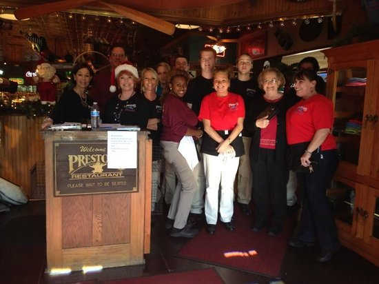 Preston's Family Seafood Restaurant: Open Thanksgiving and Christmas Day