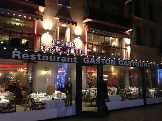 Gaston et Gastounette : Ресторан