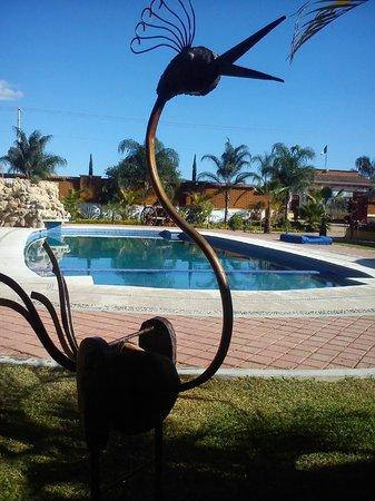Quinta El Adobe Restaurante Buffet: Alberca Climatizada
