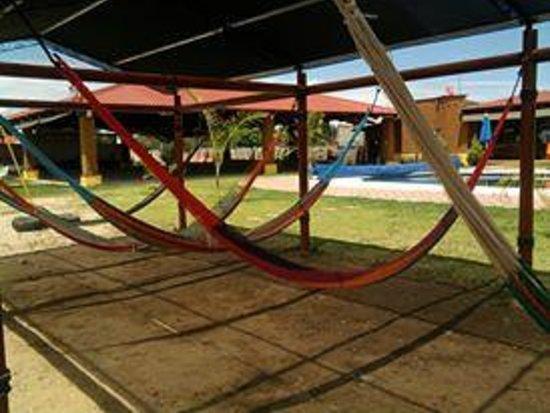 Quinta El Adobe Restaurante Buffet: Hamacas