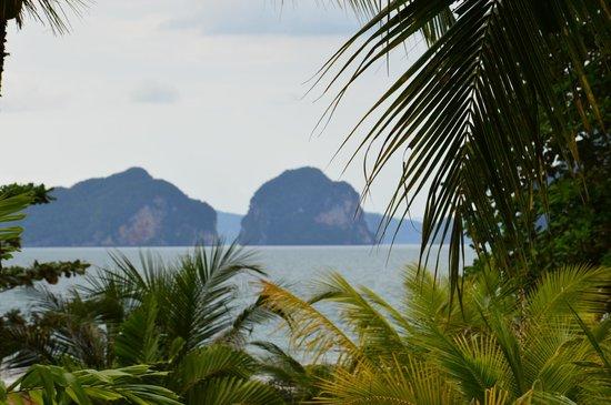 Tup Kaek Sunset Beach Resort : vue du restaurant