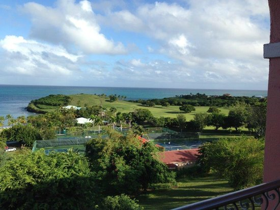 The Buccaneer St Croix : Looking toward the golf course from the room