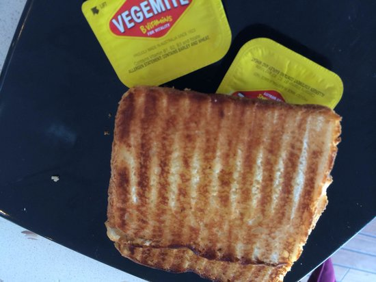 Mures Lower Deck: Toast and vegemite