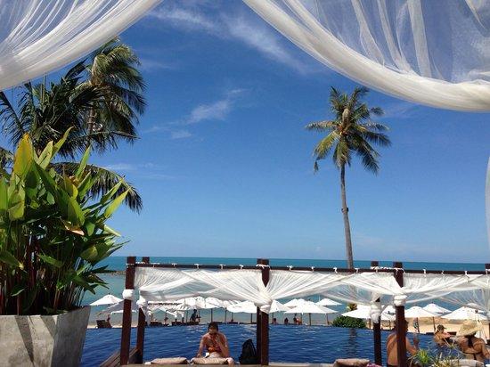 Anantara Lawana Koh Samui Resort : Beautiful blue sky after thunderstorm in the night
