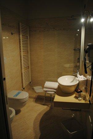 Hotel Marco Polo: bagno