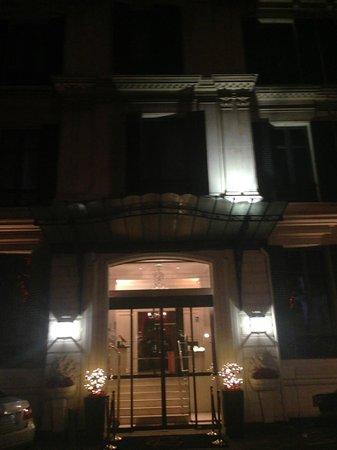 Hotel Regent's Garden : front of the hotel