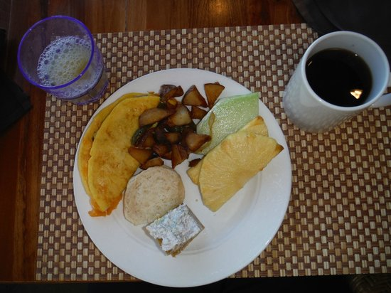 Royal Lahaina Resort : Breakfast