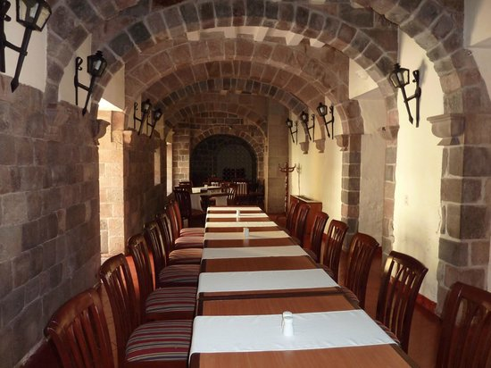Casa Andina Premium Cusco : Local onde é servido os jantares