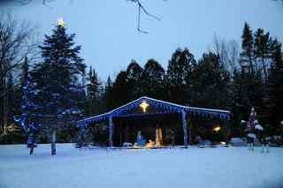 Santa's Village: The Nativity Scene