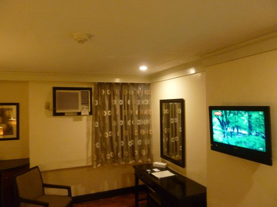 Fersal Hotel Diliman : Flat Screen TV
