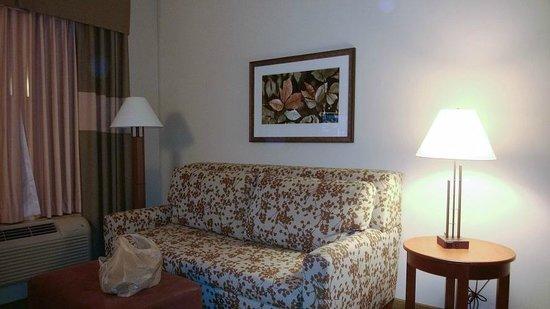 Hampton Inn & Suites Salem : Sitting area