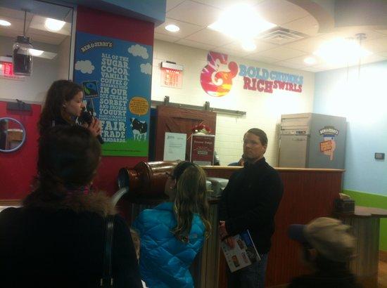 Ben & Jerry's: Ben and jerry ice cream tour