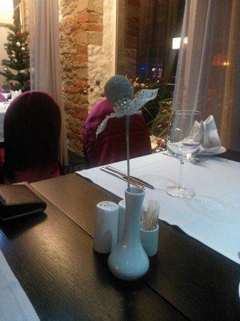 Metropol Hotel: Restaurant Berlin: a lovely table decoration