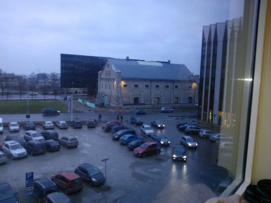 Metropol Hotel: A view from the hotel room: The Museum of Estonian Architecture