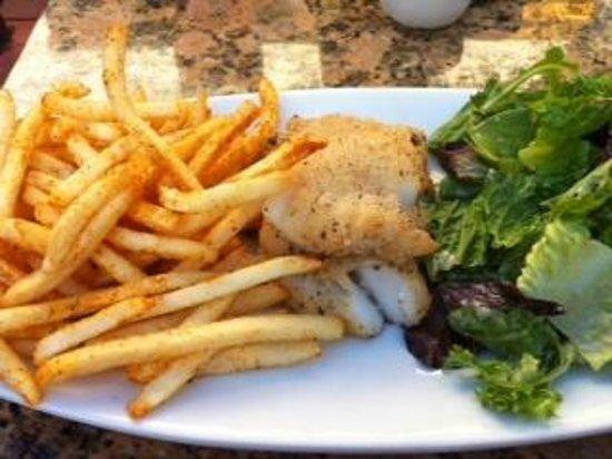 LaSalette Restaurant: Gluten free fish and chips
