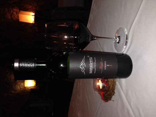 Hotel Boutique & Villas Oasis Casa Vieja: Ottimo vino spagnolo