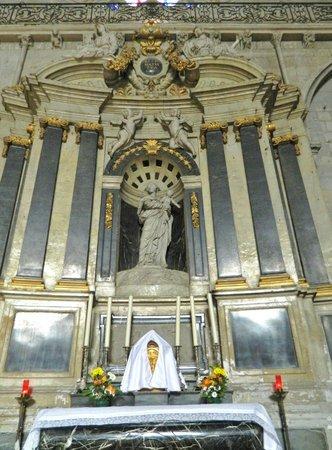 Cathédrale Saint-Maurice : Altar of Virgin Mary