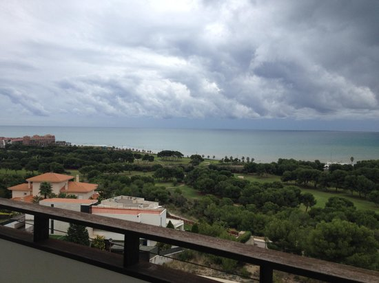 Dolce Sitges Resort: View from balcony