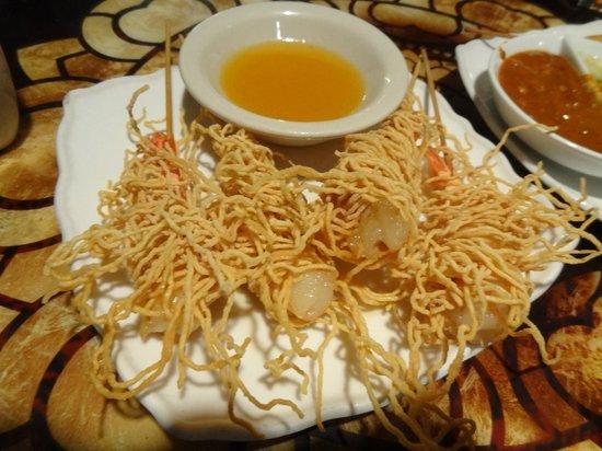 Teak Thai Cuisine and Sushi Bar: Shrimp Dragon