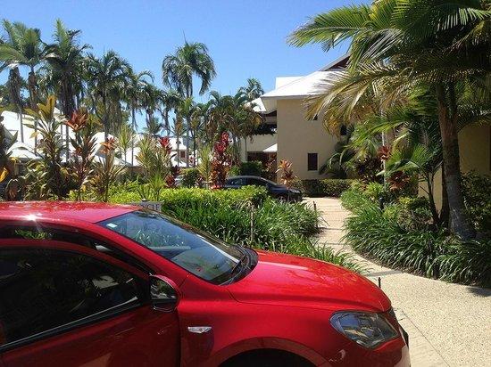 Paradise Links Resort Port Douglas : Our parking spot