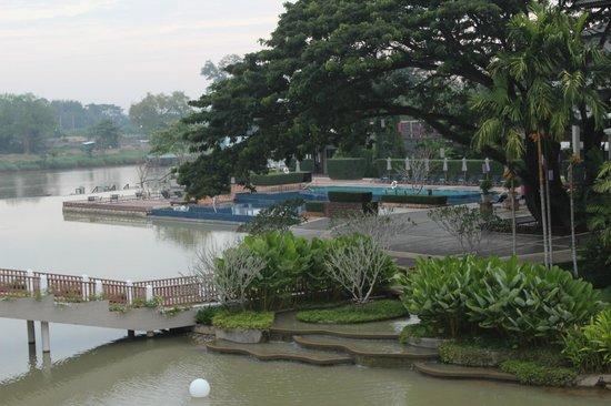 Le Meridien Chiang Rai Resort: Parco