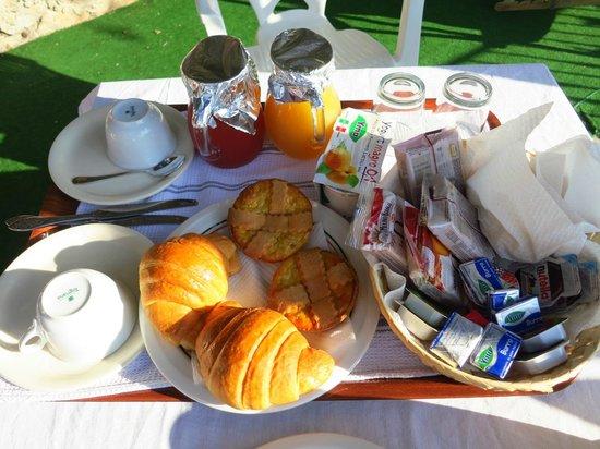 Le Nereidi: Delicious breakfast