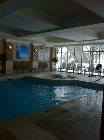 Waterfront Hotel Downtown Burlington : The hotel pool area