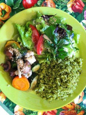 Quinua y Amaranto : The main course