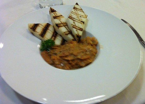 "Aquattro Restaurant: Main Dish: ""Baccalà alla Vicentina"""