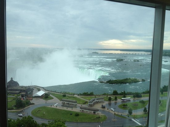 Niagara Falls Marriott Fallsview Hotel & Spa : View from room