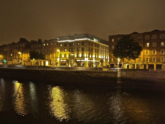 The Morrison, a DoubleTree by Hilton Hotel: View from across river Liffey