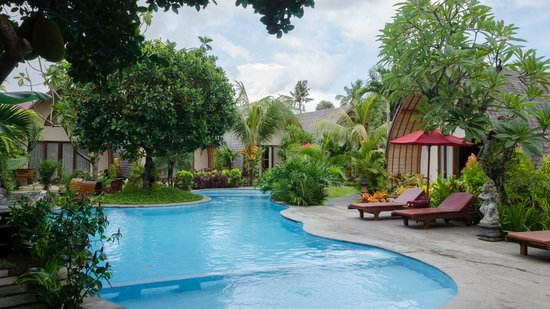 Klumpu Bali Resort: Pool and surrounds