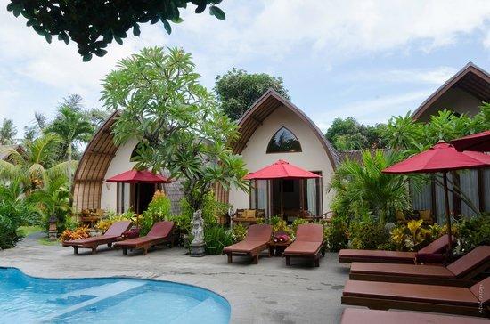 Klumpu Bali Resort: A view of rooms