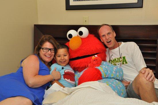 Beaches Ocho Rios Resort & Golf Club: Night night sleep tight with Elmo