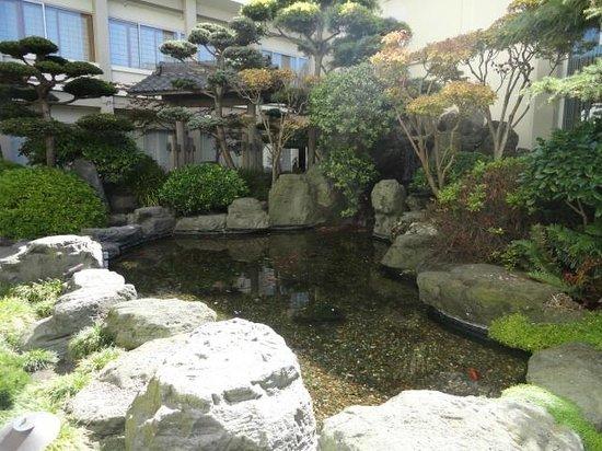 Hotel Kabuki, a Joie de Vivre hotel : Jardim Japonês.Muito bonito.